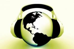Podcasting-globe