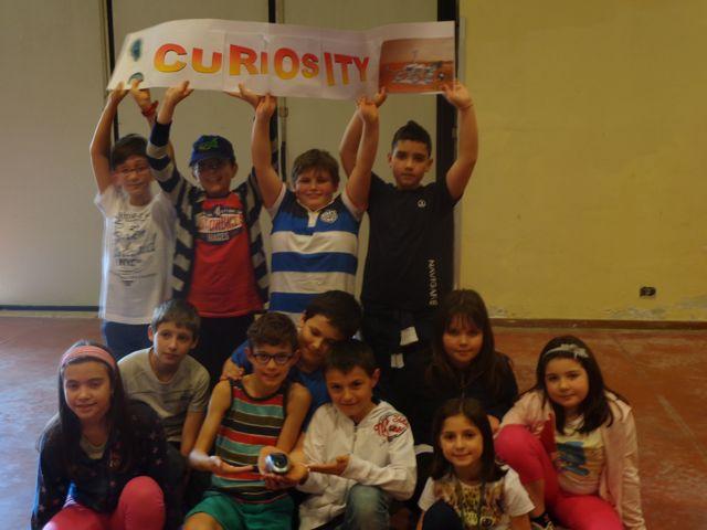 Il team mortarese Curiosity che ha vinto le competizioni della rescue