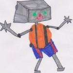 Disegno di un robot