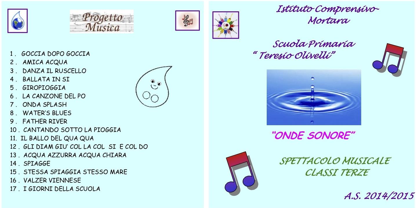 """La copertina del cd """"Onde sonore"""""""