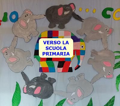 CON ELMER CONOSCIAMO NUOVI AMICI  VERSO LA SCUOLA PRIMARIA
