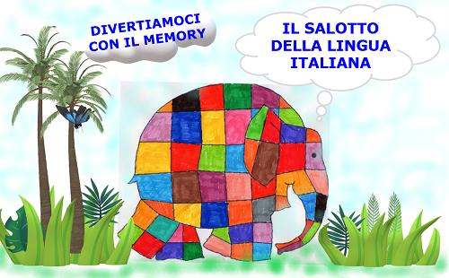 IL SALOTTO DELLA LINGUA ITALIANA… CON ELMER COLORA… TAGLIA… GIOCA …